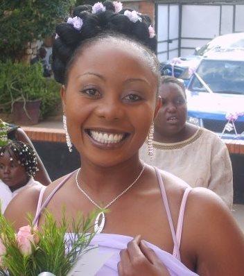Geoffrey Mwamba's daughter Sibongile Mwamba