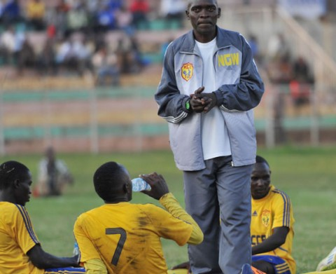 Uganda Head coach George Nsimbe