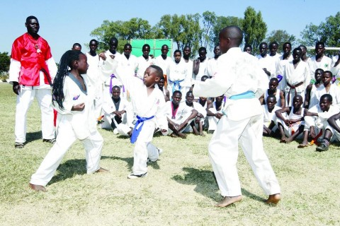 Kalewa Karate Club members