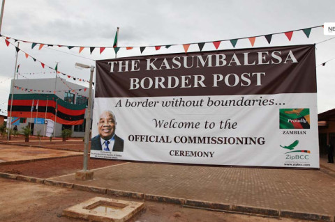 Kasumbalesa border post