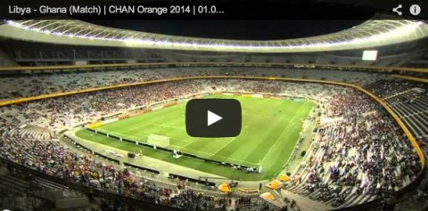Libya 0 : 0 Ghana (Penalties : 4 : 3) - Final of the Orange African Nations Championship, SOUTH AFRICA 2014 held on the 1st February