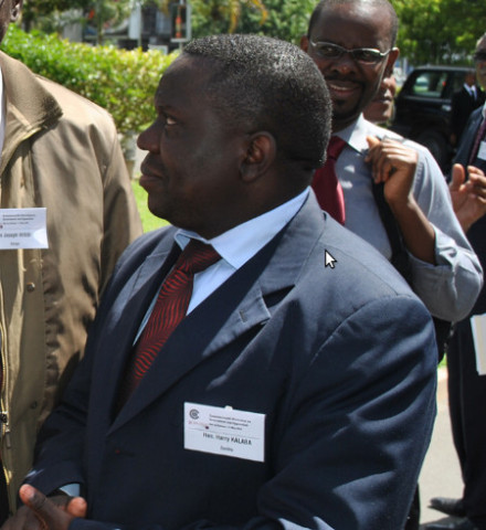 MINISTER of Lands, Natural Resources and Environmental Protection Harry Kalaba