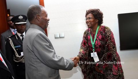 Mr. Michael Chilufya Sata, President of the Republic of Zambia