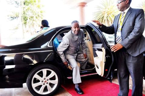 President Michael Sata