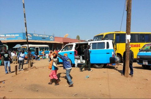 Solwezi bus station