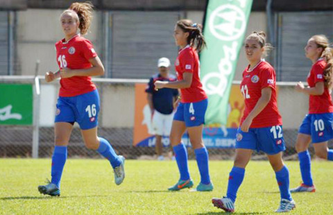 U-17 Ticas will face Italy, Venezuela and Zambia in a qualification round of Costa Rica's U-17 Women's World Cup. (Courtesy of FEDEFUTBOL