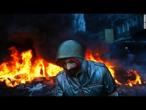 Ukraine president, opposition agree on truce, but protests continue