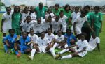 coach Charles Bwale with Team