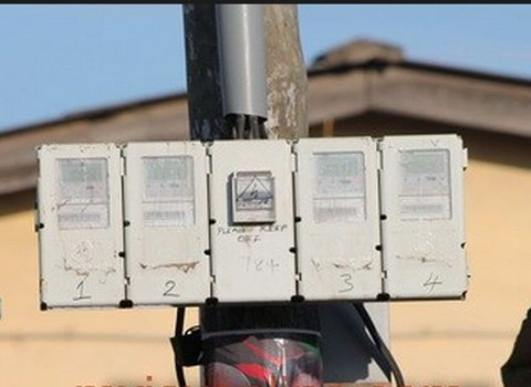pre-paid meters on traffic and street lights