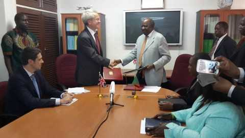 signing of a Double Taxation Agreement avoidance between the UK and Zambia
