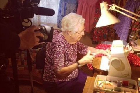 95-year-old, Angelea Carey