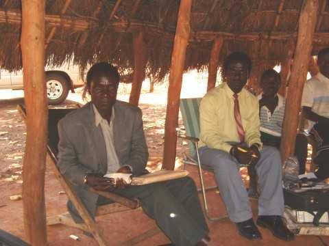 Chief Luembe and Axon Lungu