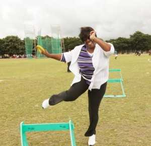 DR KASEBA LAUNCHES KIDS ATHLETICS IN PICTURES ,