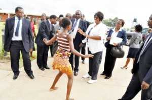 DR KASEBA LAUNCHES KIDS ATHLETICS IN PICTURES