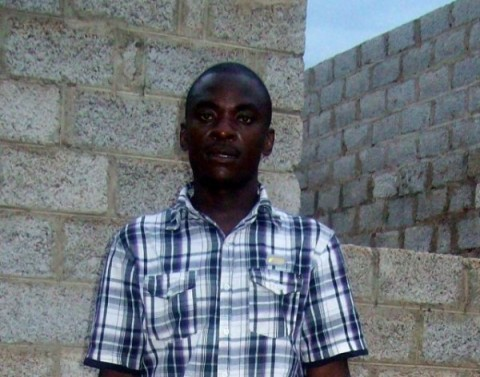 David Mubita defied tradition to get circumcised for protection against HIV. Credit: Lewis Mwanangombe