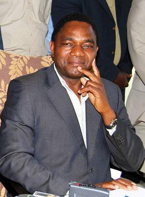 Hakainde Hichilema UPND President