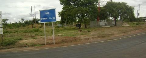 Luansobe – Mpongwe Road