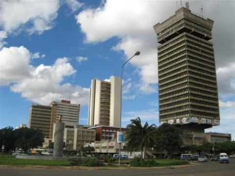 Lusaka, Zambia : Lusaka, Cairo road