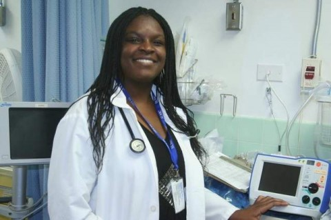 Mannasseh Chibwe is the newest medical provider at South Lyon Medical Center. / Keith Trout/Mason Valley News