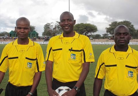 Nam refs for Uganda, Zambia match