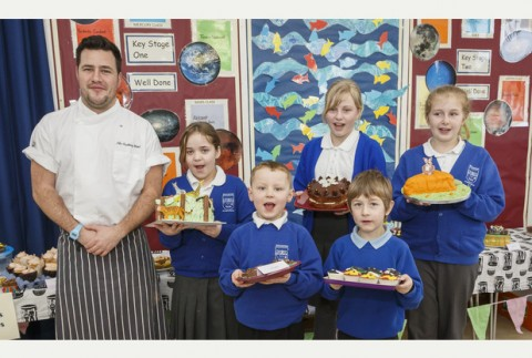 PUPILS at Wincanton Primary School have been cooking up a treat in partnership with their link school in Zambia using only Fairtrade ingredients.jpg