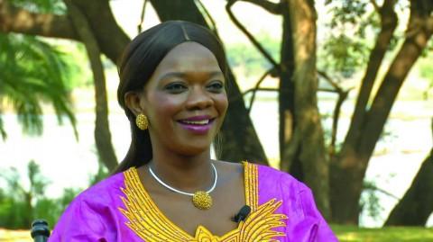 Tourism Minister Sylvia Masebo
