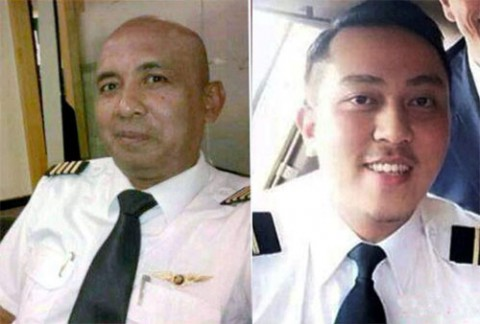 Who are the pilots of the missing Malaysia plane