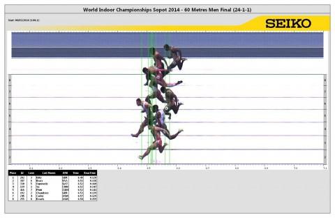 Gerald PHIRI (ZAM) 6.52 , World Indoor Athletics Championship - Men 60m Final