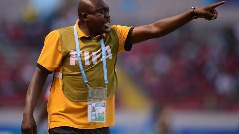 ZAMBIA Under-17 women coach Albert Kachinga