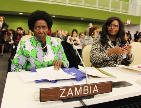 Zambia's Permanent Representative to the UN, Dr Mwaba Kasese-Bota (R).jpg