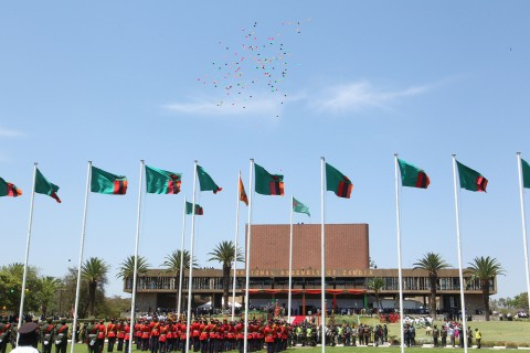Zambian parliament opening