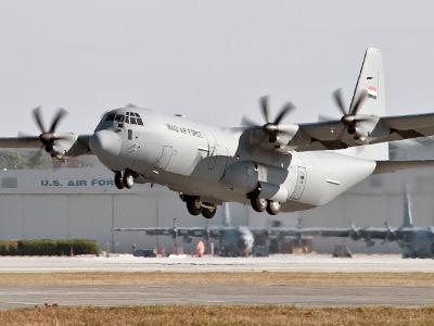 37th Airlift Wing C-130J Super Hercules