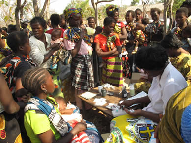 Africare Health Program: Integrated Maternal and Child Health (IMCH) Project in Zambia