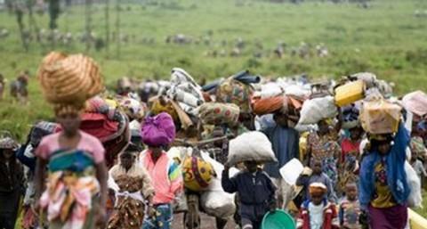 Angolan refugees living in Lukulu