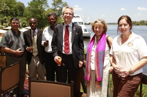 British High Commissioner to Zambia James Thornton