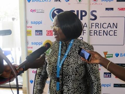 Dr. Tukiya Kankasa-Mabula, Deputy Governor at the Bank Of Zambia