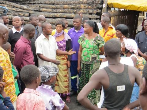 Edith Nawakwi Ndola, Main Masala township tour