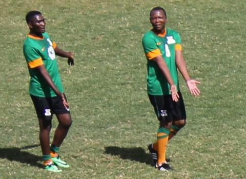 Elijah Tana and Evans Sakala