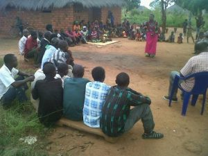 Help and Hope coming to Northern Province. Mama Mutale Nalumango in action