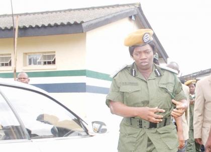 INSPECTOR General of police Stellah Libongani