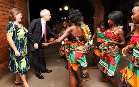 KK's 90th Birthday in Pictures - British Ambassador