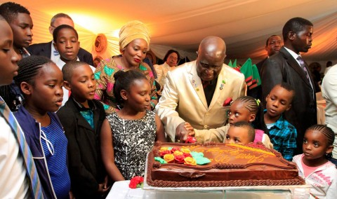 KK's 90th Birthday in Pictures - Lets cut that Cake