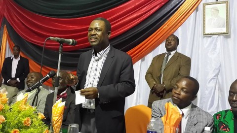 Kabimba - It was a pleasure for me to officiate at a fundraising dinner for the PF in Kabwe District last night