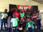 Mortein, World Malaria Day, which was held earlier this morning at Northmead Primary School, APril 25th 2014