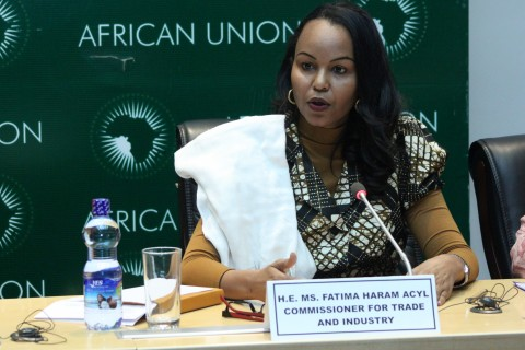 Mrs Fatima Acyl, Commissioner for Trade and Industry of the African Union