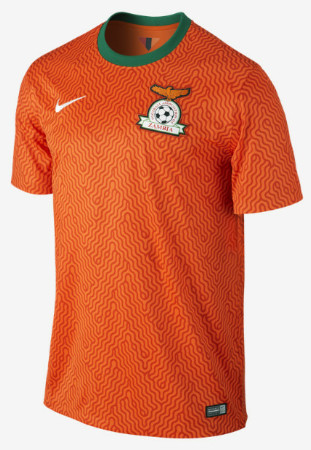 Nike Launches the Zambia 2014:15 Home and Away Kits