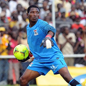 Power Dynamos goalkeeper Joshua Titima - Photo Credit - Supersport