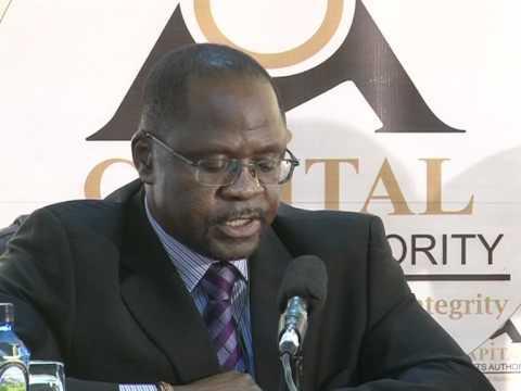 SEC chief executive officer Wala Chabala