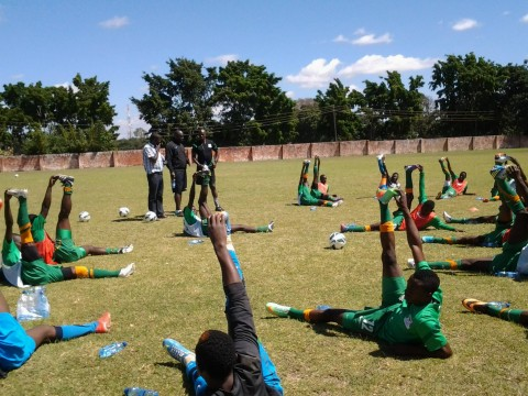 The Under twenty Camp has entered day two today, and had a successful training session this morning