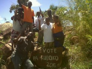 UPND Team in Kaputa